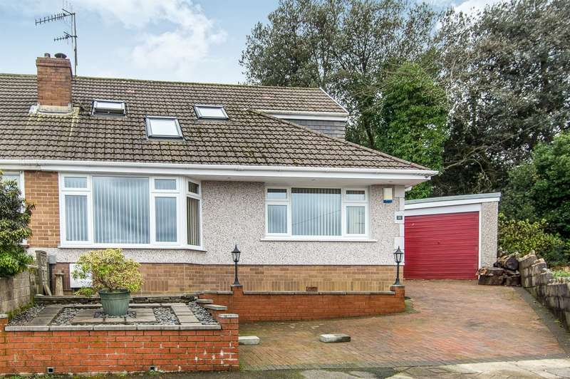 3 Bedrooms Semi Detached Bungalow for sale in Dan Y Parc, Morriston, Swansea