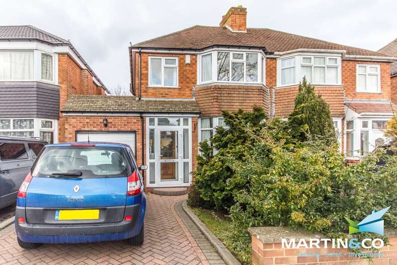3 Bedrooms Semi Detached House for sale in Sylvan Avenue, Northfield, B31
