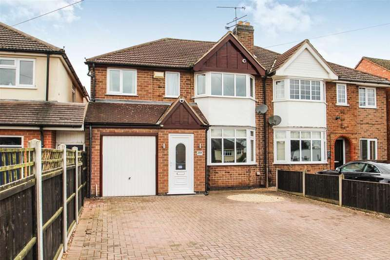 4 Bedrooms Detached House for sale in Cropston Road, Anstey, Leicester