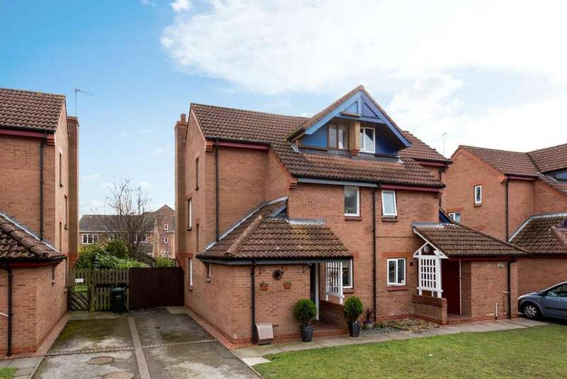 4 Bedrooms Semi Detached House for sale in Brackenhill Close, Brayton, Selby