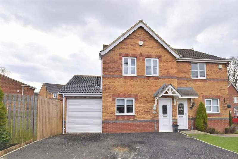 3 Bedrooms Semi Detached House for sale in Halesworth Drive, Sunderland