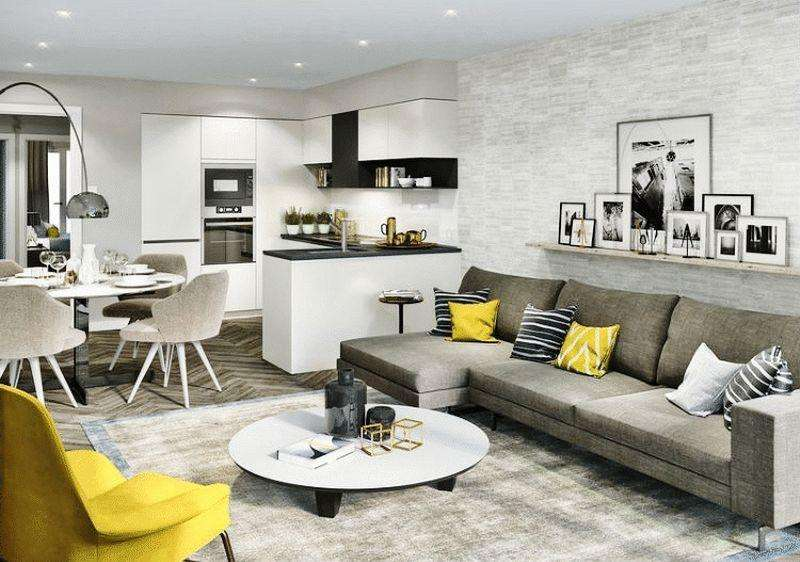 2 Bedrooms Apartment Flat for sale in London Square, 423-425 Caledonian Road, Islington