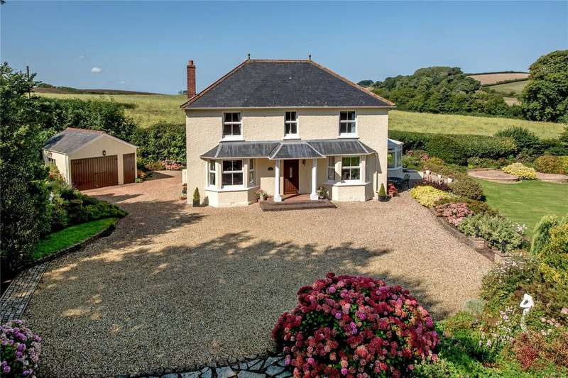 4 Bedrooms Detached House for sale in Monksilver, Taunton, Somerset