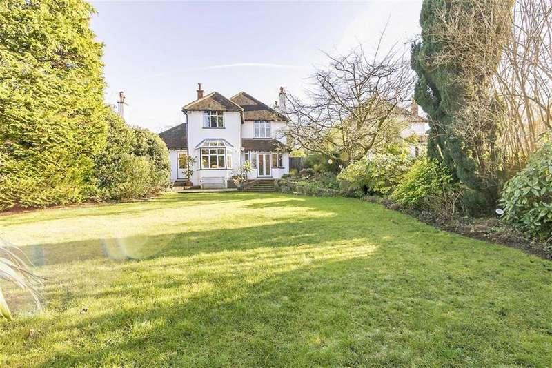 4 Bedrooms Detached House for sale in Longdown Lane North, Epsom, Surrey