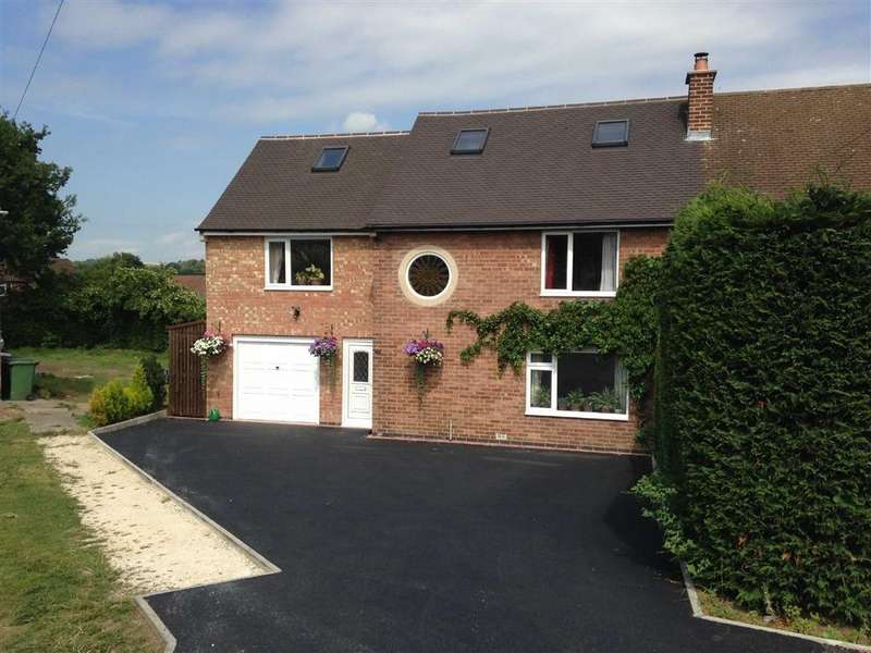 4 Bedrooms Semi Detached House for sale in 19, Sedbergh Crescent, Newbold, Chesterfield, Derbyshire, S41