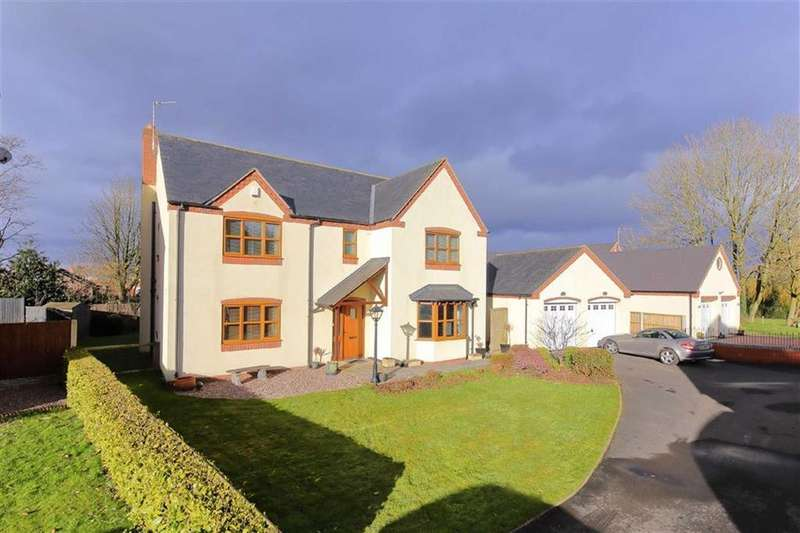 5 Bedrooms Detached House for sale in Inch Murrin, St Martins, Oswestry, SY11