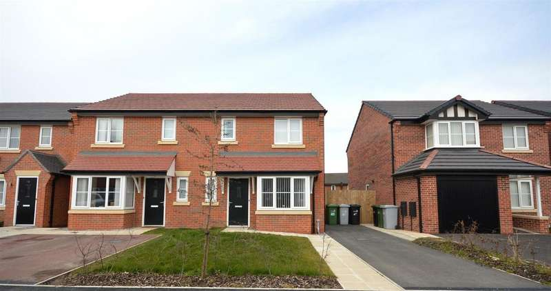 3 Bedrooms Semi Detached House for sale in Clive Way, Middlewich