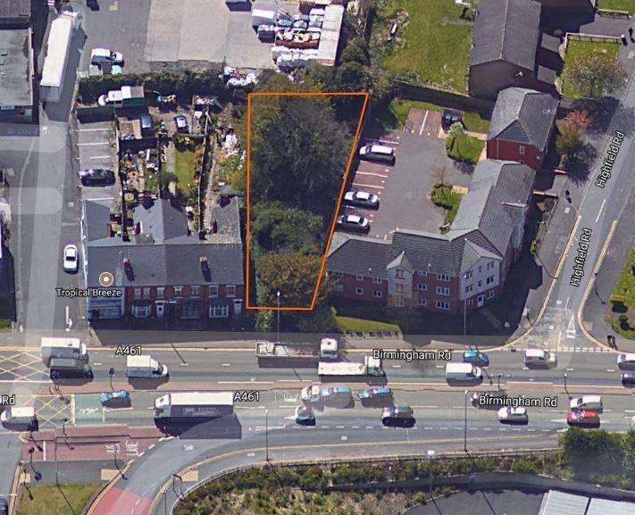 Land Commercial for sale in Land adj to 76 Birmingham Road, Dudley