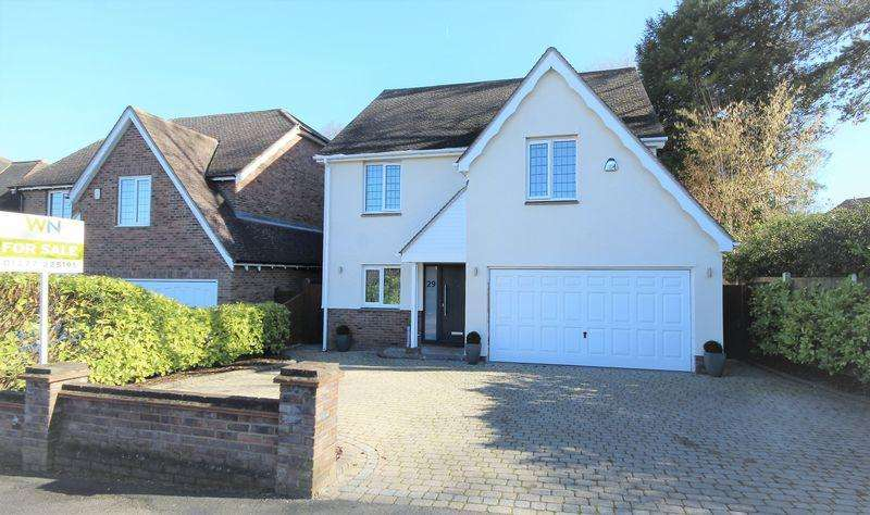 4 Bedrooms Detached House for sale in Worrin Road, Shenfield