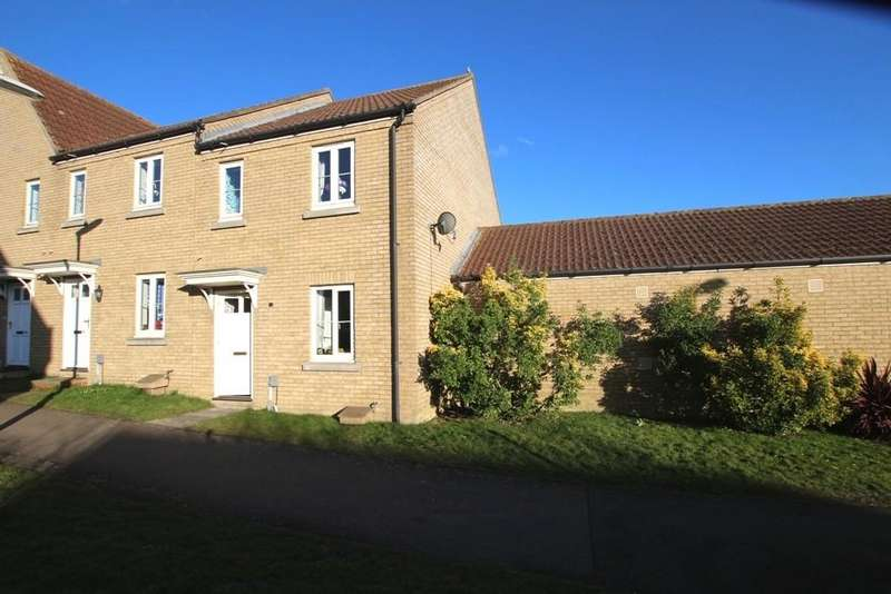 3 Bedrooms End Of Terrace House for sale in Wissey Way, Ely