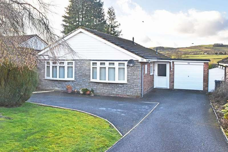 2 Bedrooms Detached Bungalow for sale in 50 Holcombe Drive, Llandrindod Wells LD1 6DN