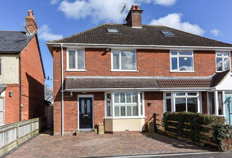 4 Bedrooms Semi Detached House for sale in Recreation Road, Andover