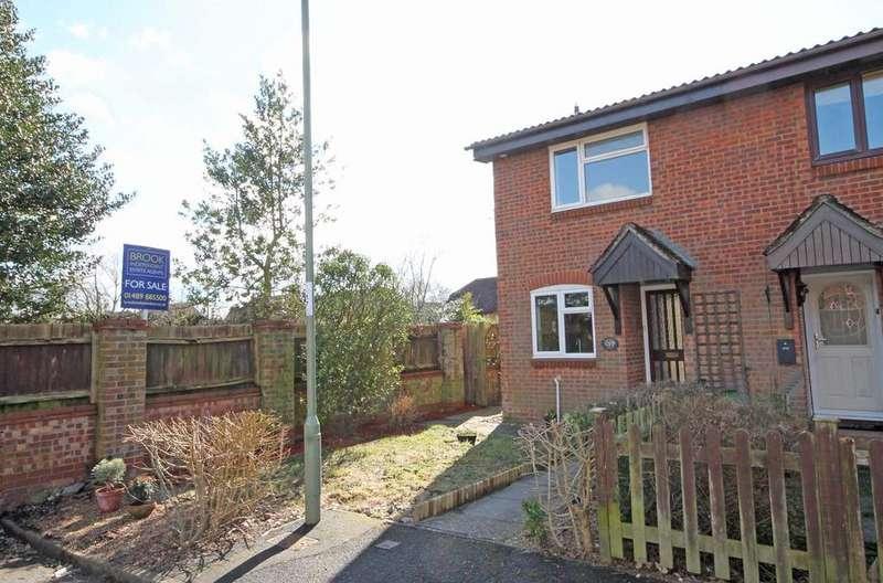2 Bedrooms End Of Terrace House for sale in Hollybrook Gardens, Locks Heath SO31