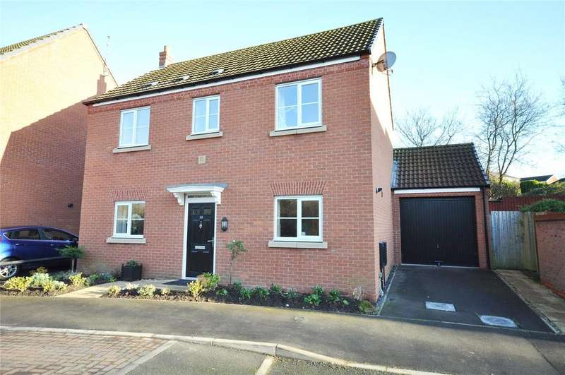 3 Bedrooms Detached House for sale in Kipling Drive, Melton Mowbray, Leicestershire