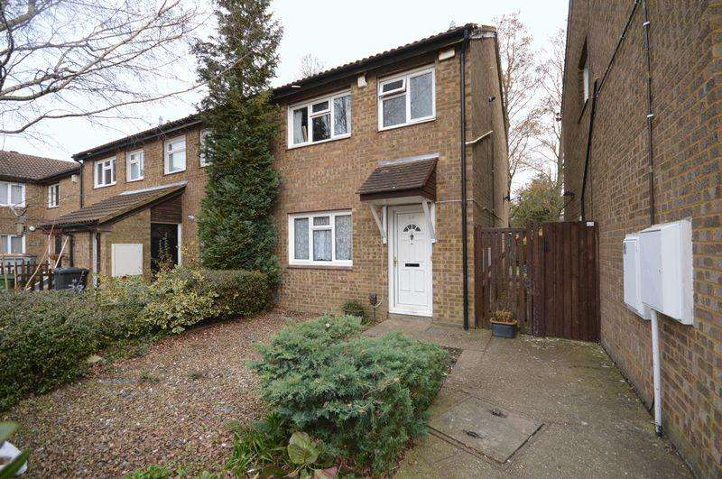 3 Bedrooms End Of Terrace House for sale in Cumbria Close, Houghton Regis