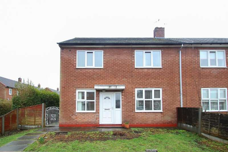 3 Bedrooms Semi Detached House for sale in Willow Road, Partington, Manchester, M31
