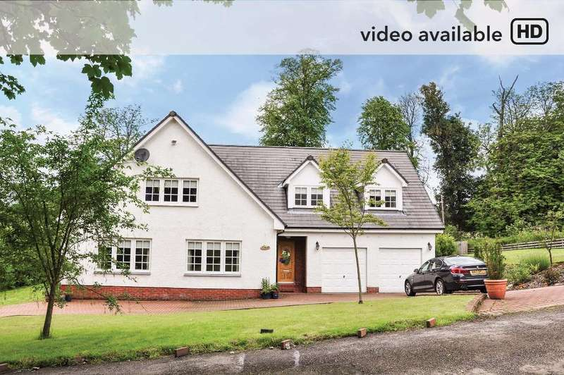 4 Bedrooms Detached House for sale in Letrualt Farm Lane, Rhu, Argyll Bute, G84 8NL