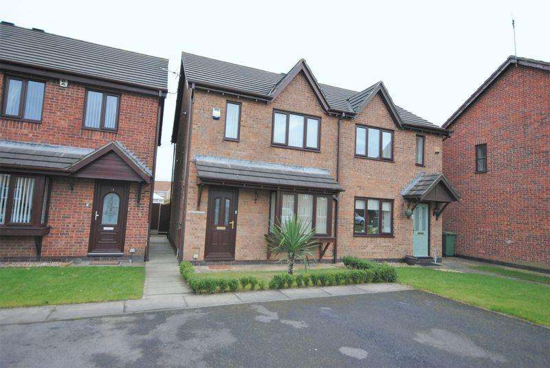 2 Bedrooms Semi Detached House for sale in Leasowe Gardens, Moreton