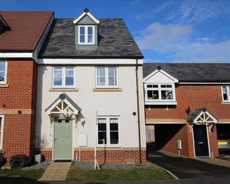 4 Bedrooms Terraced House for sale in Pople Road, Biggleswade, SG18