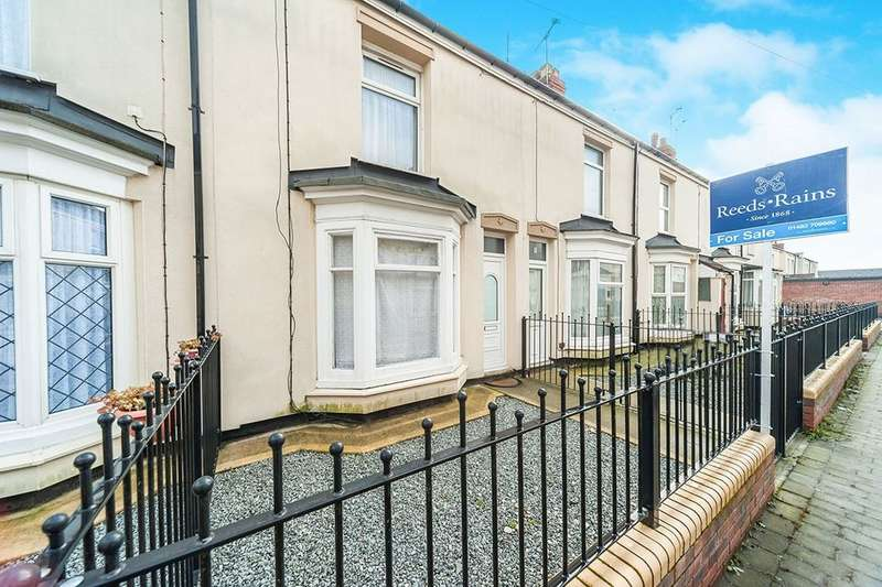 2 Bedrooms Terraced House for sale in Mables Villas, Holland Street, Hull, HU9