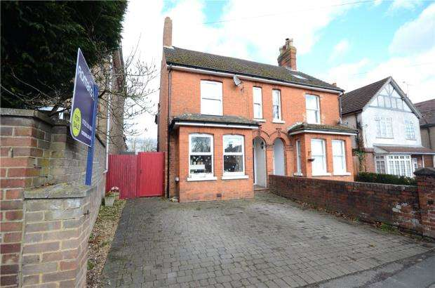 3 Bedrooms Semi Detached House for sale in Rectory Road, Farnborough, Hampshire