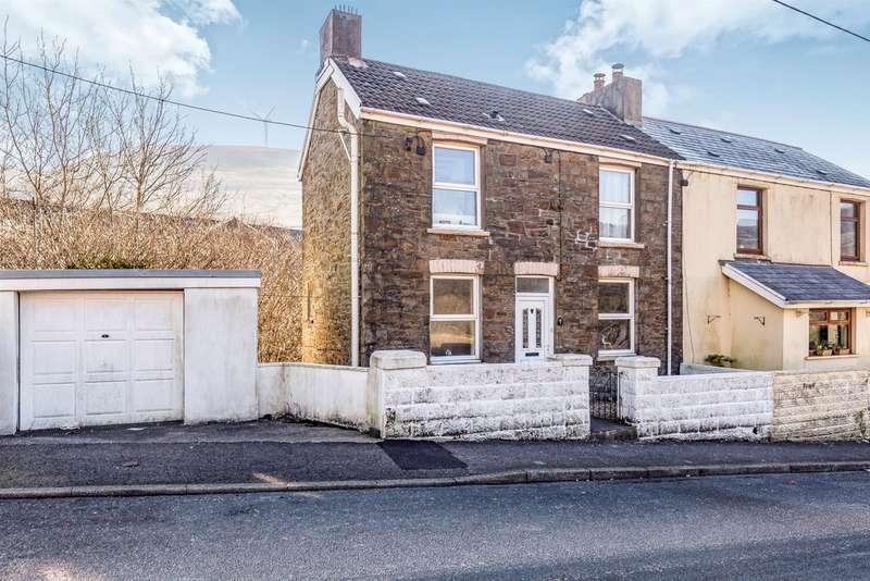 2 Bedrooms Semi Detached House for sale in Stormy Lane, Nantymoel, Bridgend