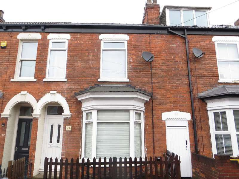 3 Bedrooms Terraced House for rent in Thoresby Street, Hull, East Riding of Yorkshire, HU5 3RD