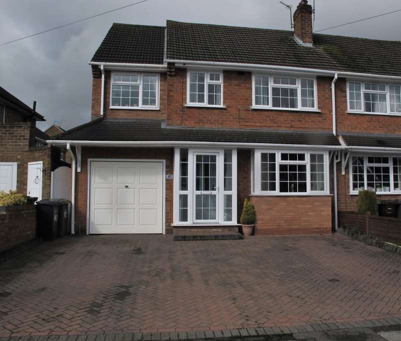 4 Bedrooms Semi Detached House for sale in Mayswood Road, Solihull