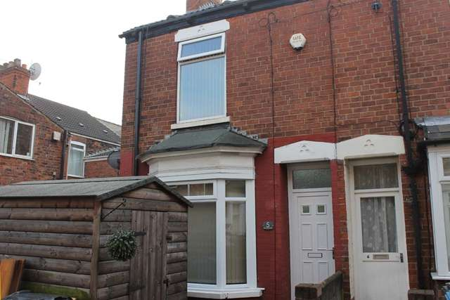 2 Bedrooms Terraced House for sale in 5 Brentwood Villas, Perry Street, Hull HU3 6AL.