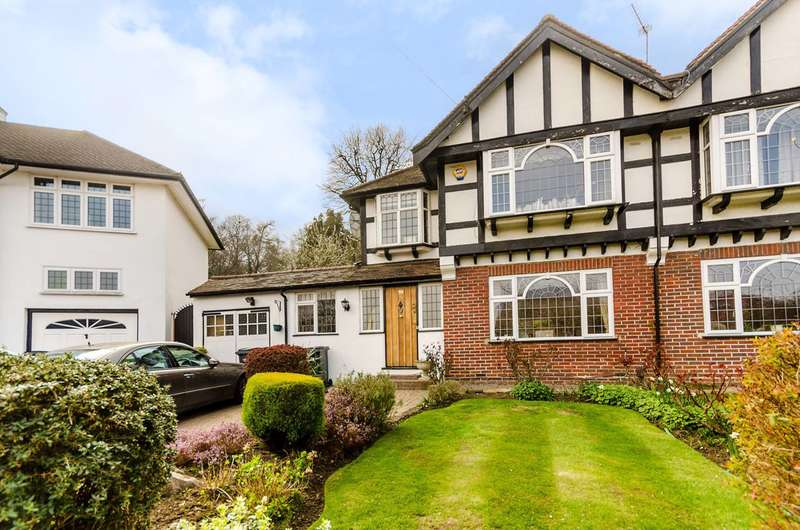 3 Bedrooms Semi Detached House for sale in Ullswater Crescent, Kingston Hill, SW15
