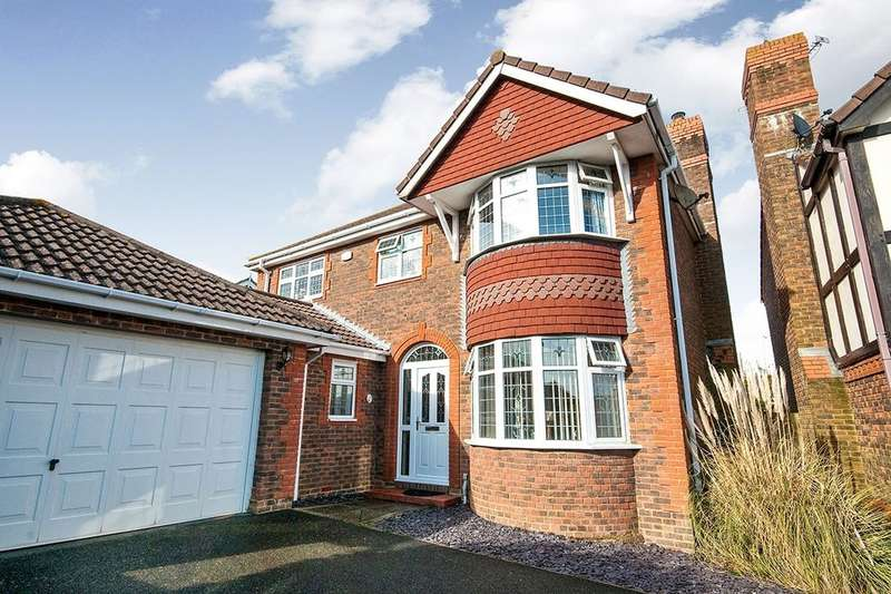 4 Bedrooms Detached House for sale in Mole Close, Stone Cross, Pevensey, BN24