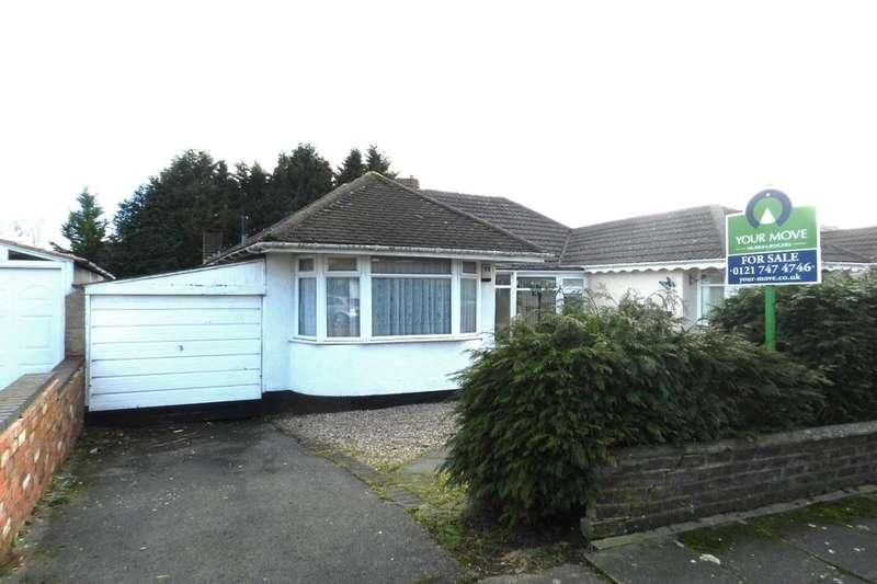 3 Bedrooms Semi Detached Bungalow for sale in Teesdale Avenue, Shard End, Birmingham, B34