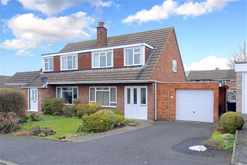 3 Bedrooms Semi Detached House for sale in Fairview Drive, Bayston Hill, Shrewsbury, Shropshire