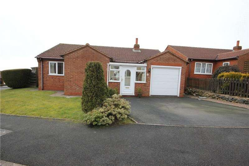 2 Bedrooms Semi Detached Bungalow for sale in Springfield Park, Clee Hill, Ludlow, Shropshire, SY8