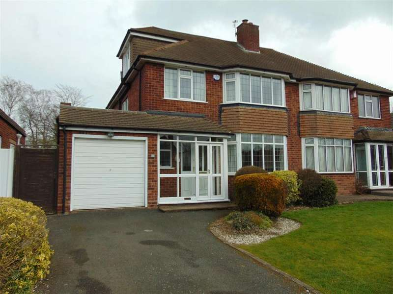 4 Bedrooms Semi Detached House for sale in Rushall Manor Road, Walsall