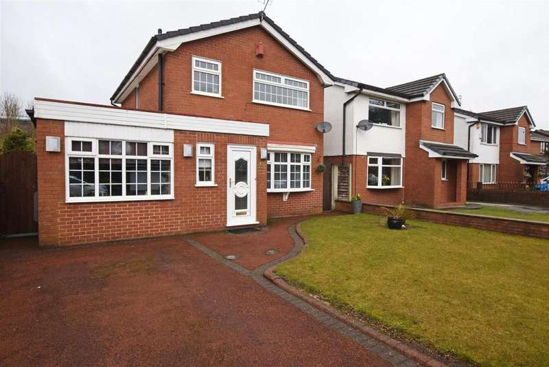 3 Bedrooms Detached House for sale in Gloucester Avenue, Hopwood, Heywood