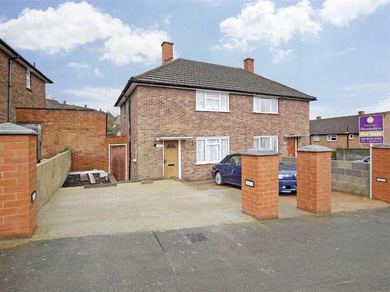 2 Bedrooms Semi Detached House for sale in Headley Drive, New Addington, Croydon
