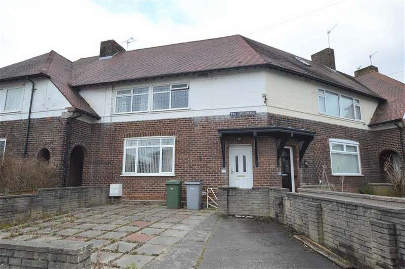 3 Bedrooms Terraced House for sale in Crossways, CH62
