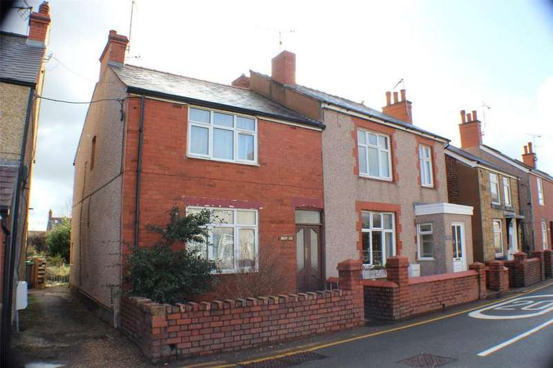 2 Bedrooms Semi Detached House for sale in Church Street, Rhos, Wrexham, LL14