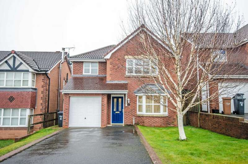 3 Bedrooms Detached House for rent in 4 Caerphilly Road, Buckley