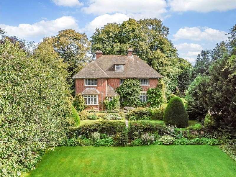 6 Bedrooms Detached House for sale in Baydon Road, Shefford Woodlands, Hungerford, Berkshire