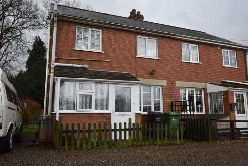 2 Bedrooms Semi Detached House for rent in Birch Avenue, Near Leominster