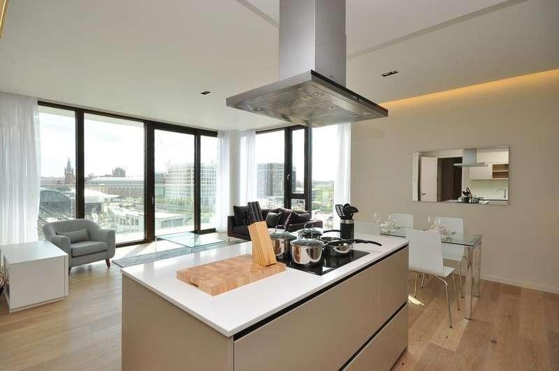 2 Bedrooms Flat for rent in Arthouse, York Way, Kings Cross, London, N1, N1C