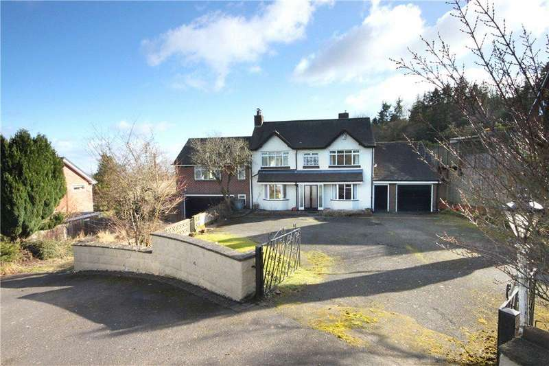 4 Bedrooms Detached House for sale in Tenbury Road, Clows Top, Kidderminster, Worcestershire, DY14