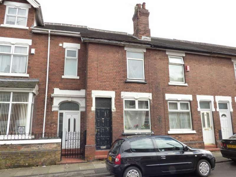 2 Bedrooms Terraced House for sale in Furnace Road, Normacot, Stoke-on-Trent