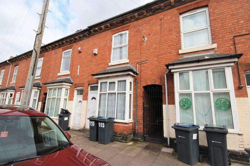 3 Bedrooms Terraced House for sale in Palace Road, Birmingham