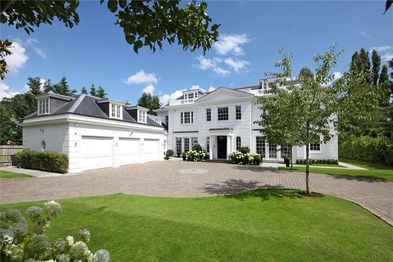 7 Bedrooms Detached House for sale in Princes Drive, Oxshott, Surrey, KT22