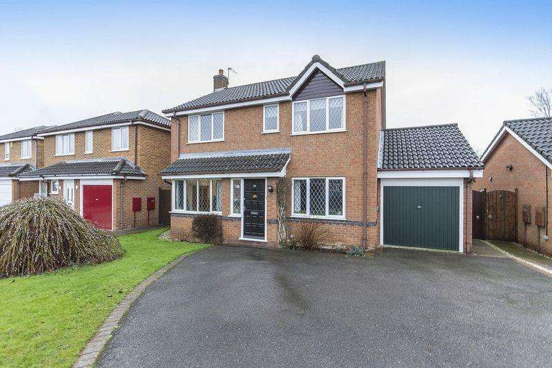 4 Bedrooms Detached House for sale in GRAFHAM CLOSE, CHELLASTON