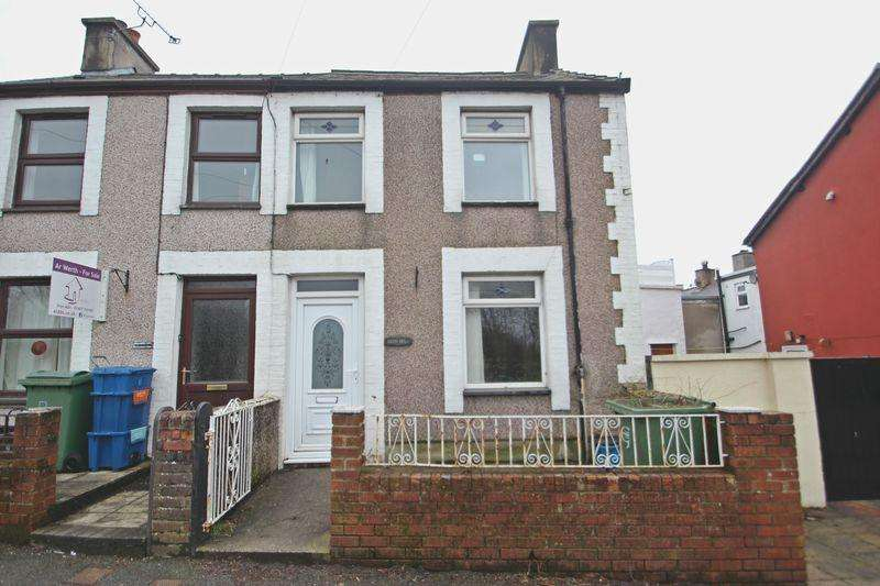 2 Bedrooms End Of Terrace House for sale in Caeathro, Gwynedd