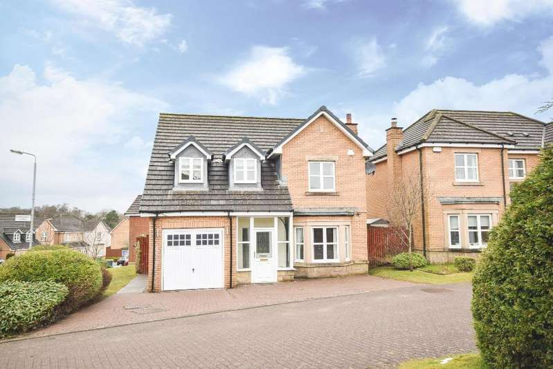 4 Bedrooms Detached House for sale in Langhaul Road, Crookston, Glasgow, G53 7SE
